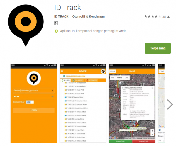 idtrack gps tracker